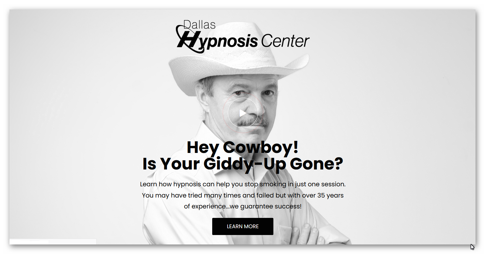 Hey Cowboy! Is Your Giddy-Up Gone? Stop Smoking!