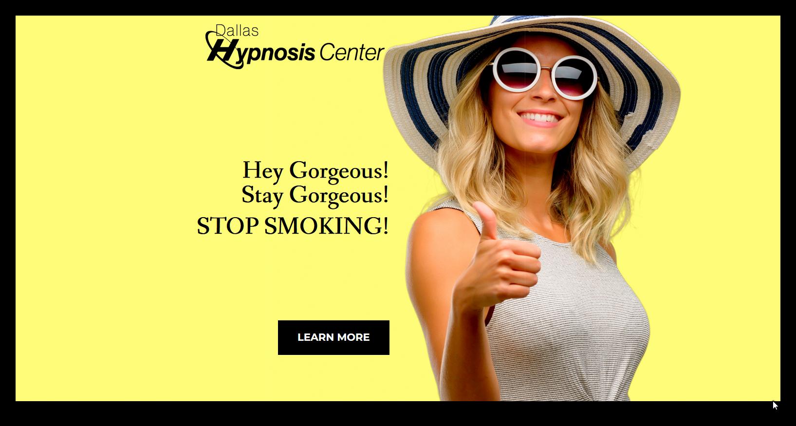 Hey Gorgeous!Stay Gorgeous! Stop Smoking!